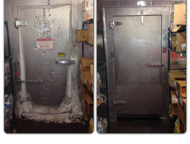 Walk in Cooler Door Repair