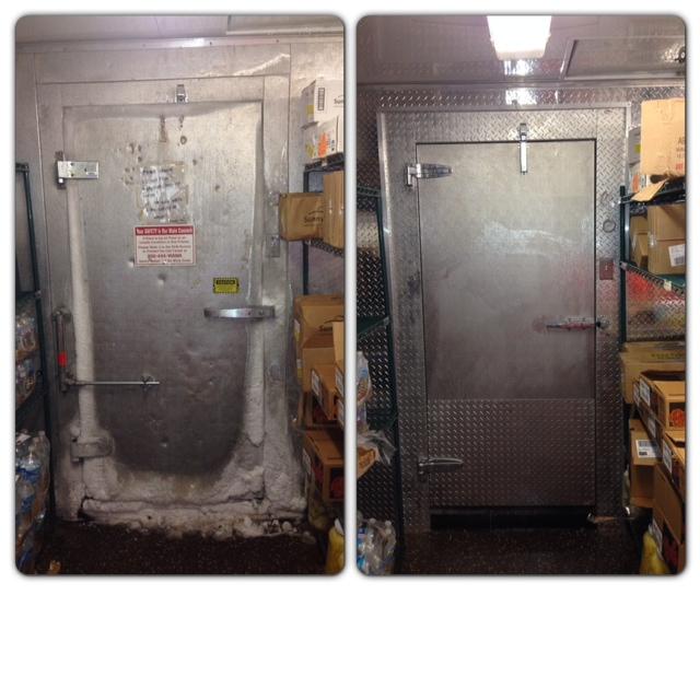 Commercial Walk In Cooler Door Repair Refrigerator Repair