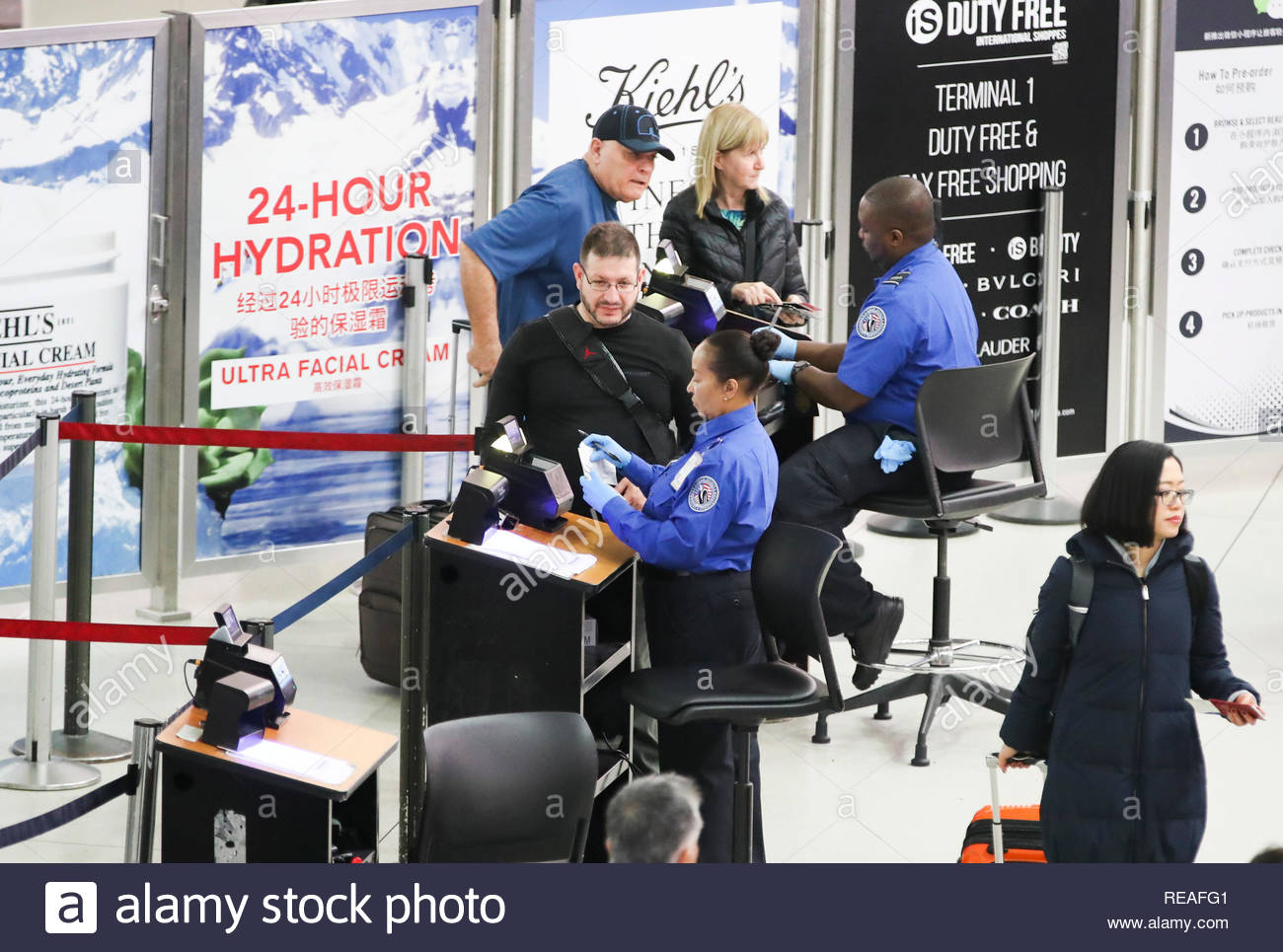 security transportation united states